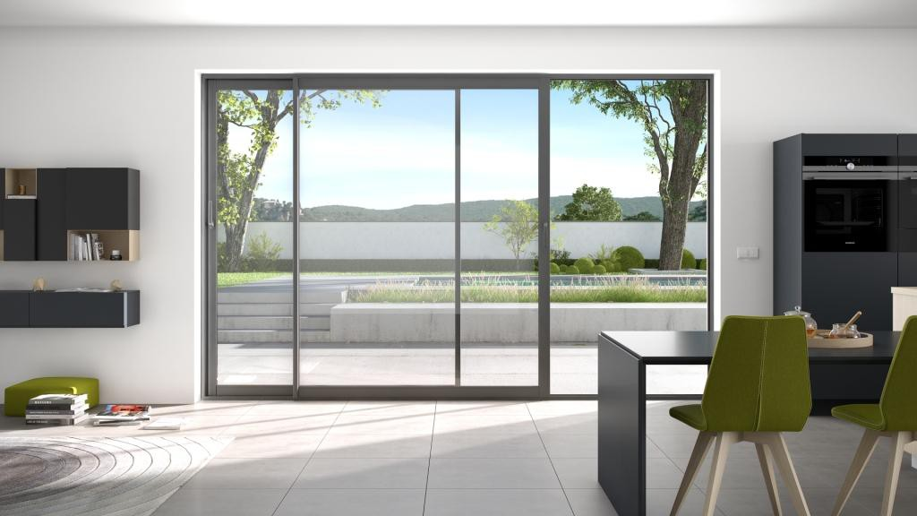 fen tre et baie vitr e aluminium aluside franciaflex. Black Bedroom Furniture Sets. Home Design Ideas