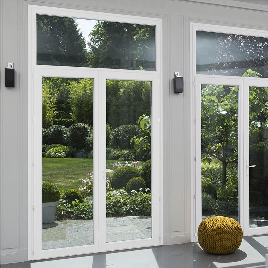 Fen tre et porte fen tre pvc exceo design franciaflex for Porte vitree pvc