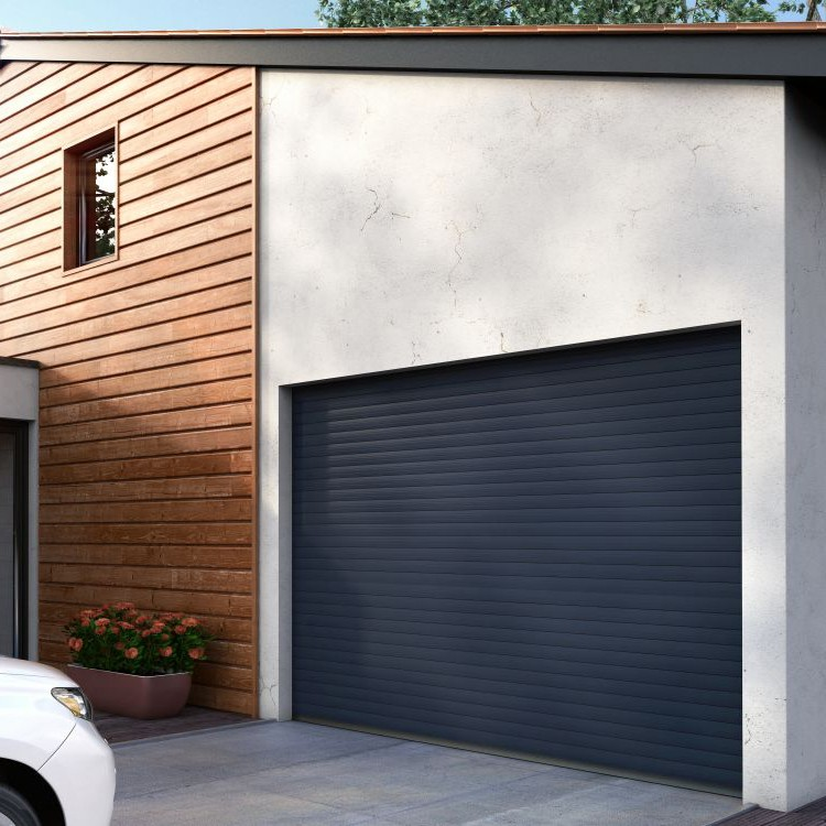 Porte de garage enroulable easydoor franciaflex for Porte de garage enroulable coffre exterieur