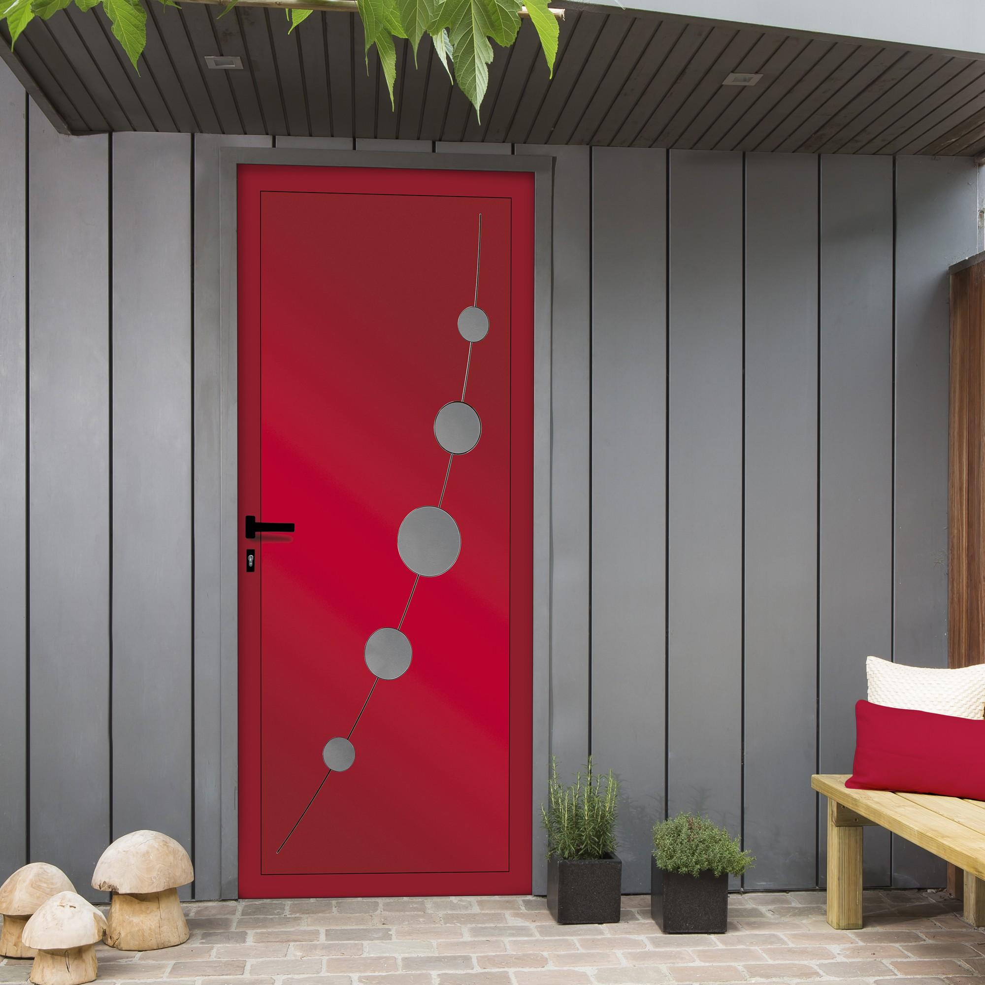 Porte Dentrée Aluminium Thermodesign Franciaflex - Porte d entrée en alu