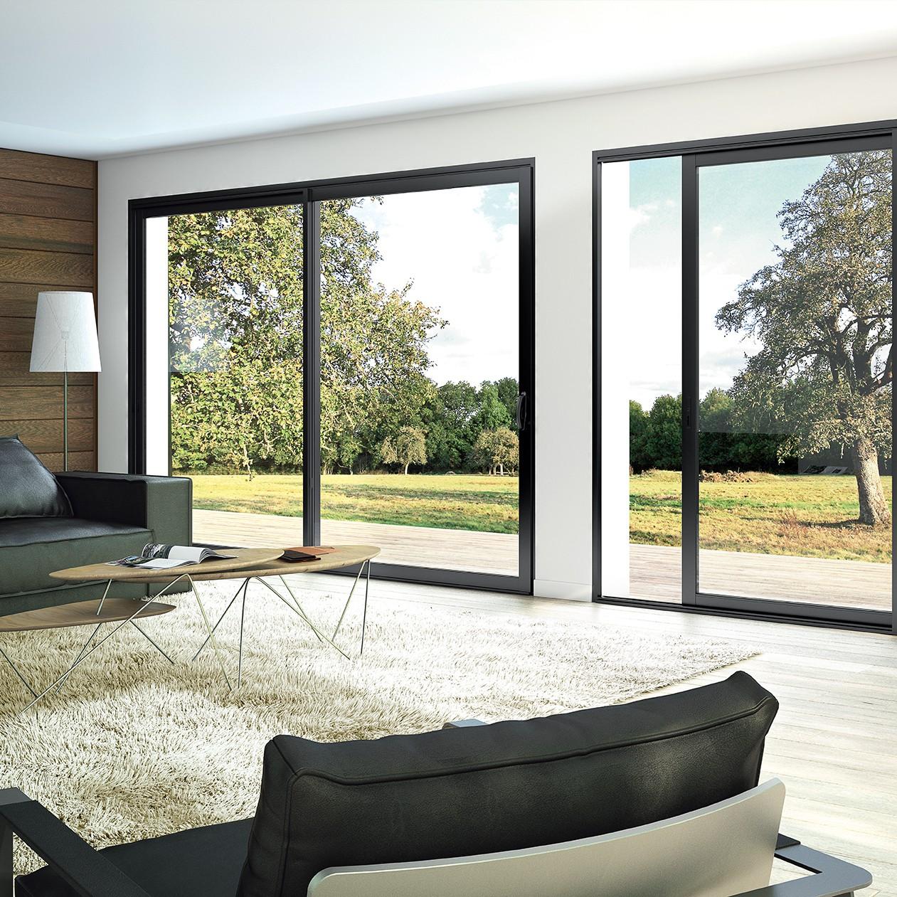 Exceptionnel Fenêtre et baie coulissante aluminium Aluside + | Franciaflex YV84