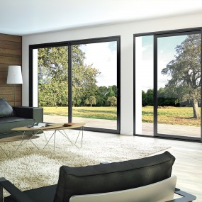 fen tre porte fen tre baie vitree aluminium franciaflex. Black Bedroom Furniture Sets. Home Design Ideas