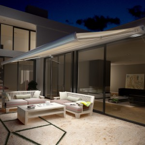 store banne f tuna inspiration avec clairage led. Black Bedroom Furniture Sets. Home Design Ideas