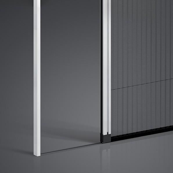 Moustiquaire protec 39 pliss e franciaflex for Moustiquaire coulissante pour porte fenetre