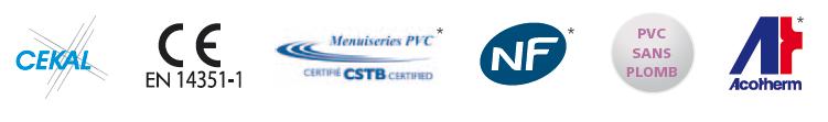 Certifictaions fabricant de menuiserie Franciaflex